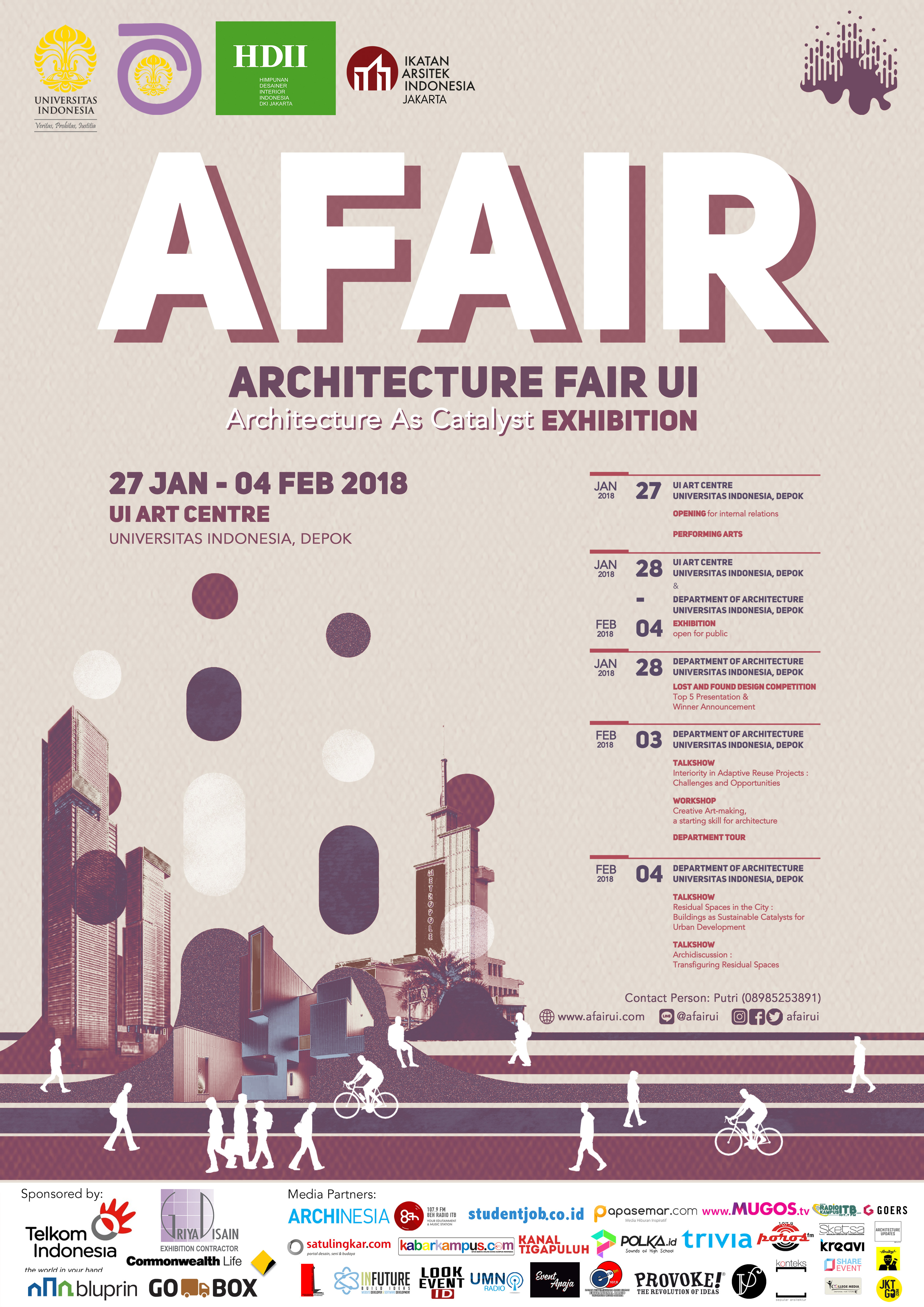 Konteks Architecture Fair UI 2018