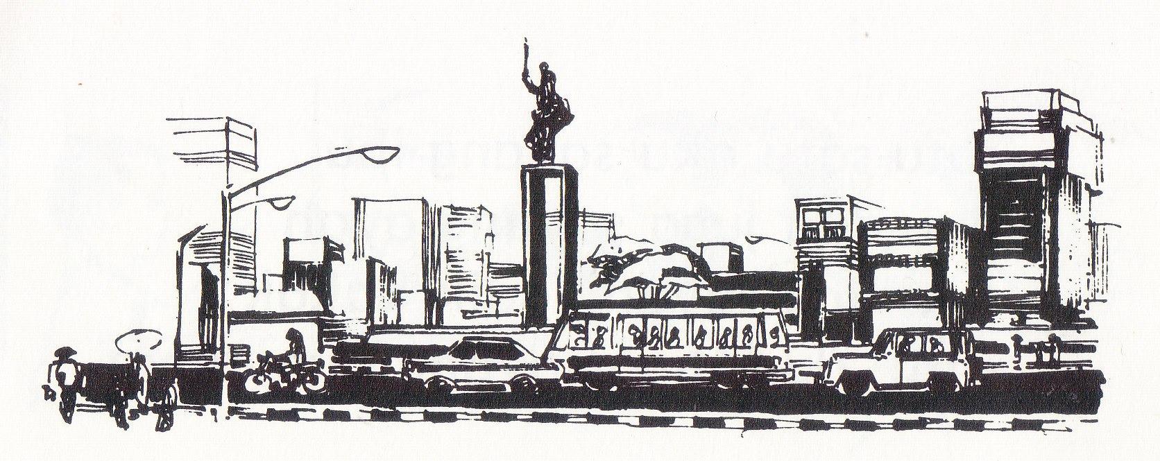 Gambar Sketsa Suasana Kota 28 Images Rumah Abu Han Sketch Traveler In Residence Berburu
