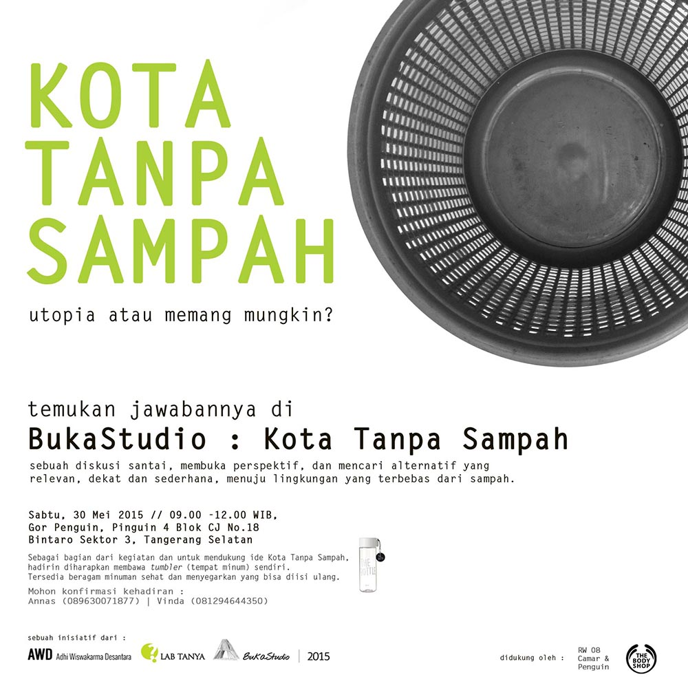 Buka Studio - Kota Tanpa Sampah