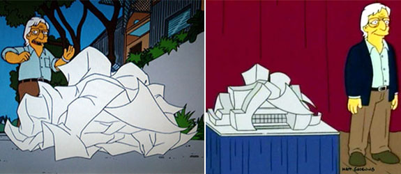Frank Gehry-The Simpsons
